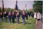 Funeral of a Fusilier who died early in the Gulf War
